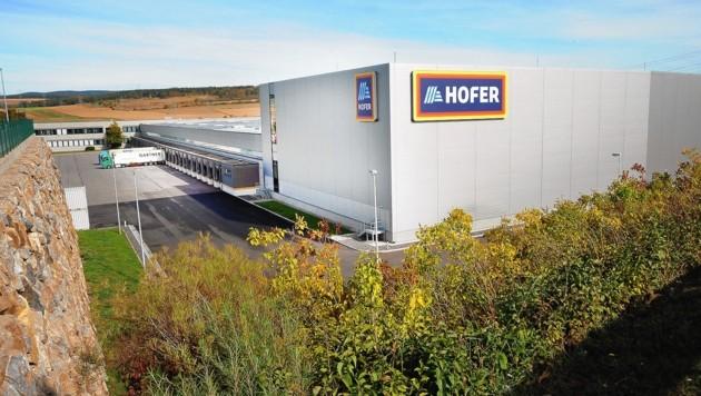 Das ehemalige Hofer-Zentrallager wurde verkauft (Bild: Crepaz Franz)