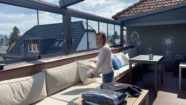 Im Jonnys in Oberndorf gestaltet Chef Daniel Heidenreich mit Frau Alexandra den Außenbereich neu. (Bild: Daniel Heidenreich)