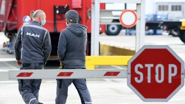 Das MAN-Werk in Steyr soll geschlossen werden. (Bild: APA/Helmut Fohringer)