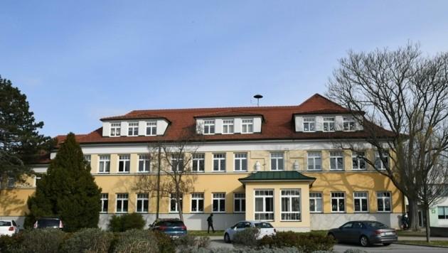 Die Mittelschule im Schulzentrum in Siegendorf. (Bild: Huber Patrick)