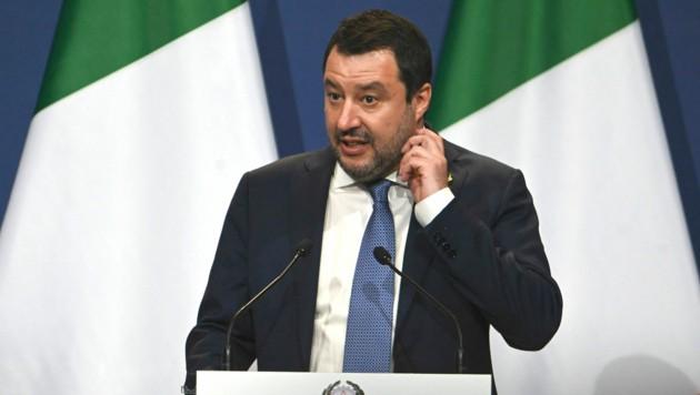 Matteo Salvini (Bild: APA/AFP/Attila KISBENEDEK)