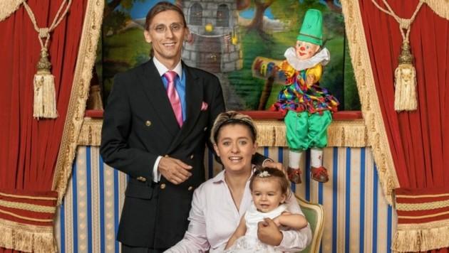 "Roberts Familie betreibt den ""Nostalgiekasperl"". (Bild: Andi Bruckner)"