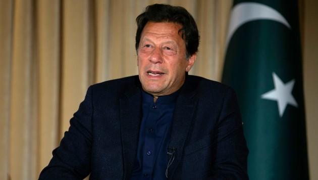 Premierminister Imran Khan (Bild: AP)