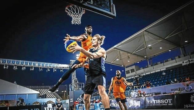 Moritz Lanegger vom Team Österreich (Bild: FIBA)