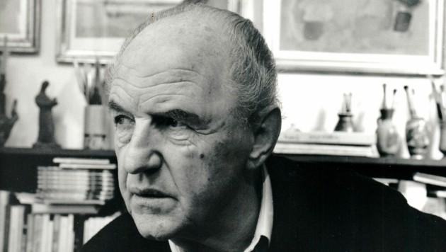 Der Künstler Karl Mostböck hätte heuer seinen 100. Geburtstag gefeiert. (Bild: Karl-Mostböck-Archiv)