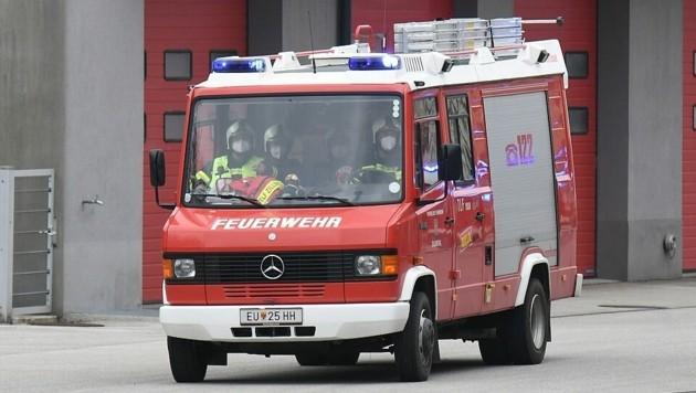 Der verletzte Mann wurde in ein Krankenhaus gebracht (Symbolbild). (Bild: P. Huber)