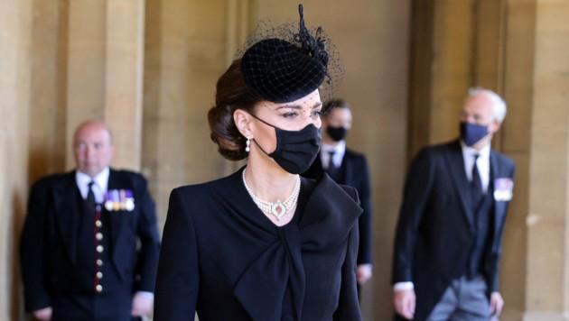 Herzogin Kate (Bild: APA/Photo by CHRIS JACKSON / various sources / AFP)