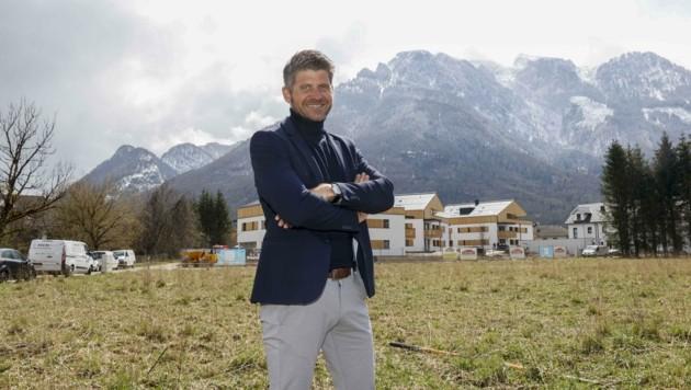 Bürgermeister Herbert Schober hat sich für ein Bauprojekt in Fürstenbrunn ein besonderes Vergabesystem ausgedacht. (Bild: Tschepp Markus)