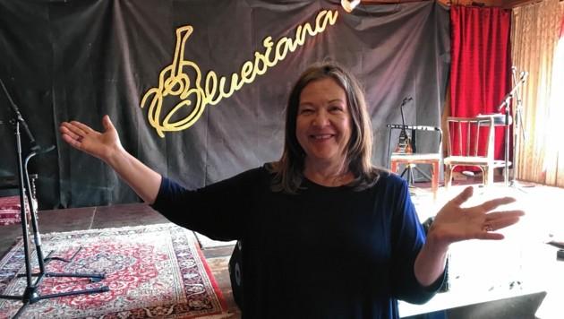 Bluesiana-Chefin Kofler ist bereits mit US-Rocker Eric Jayk & Wildstreet und den Dead Daisies in Kontakt. (Bild: Peter Kleinrath)