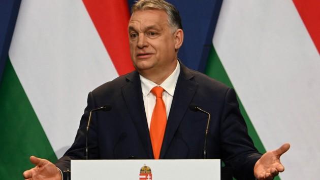 Der ungarische Premier Viktor Orban (Bild: AFP)