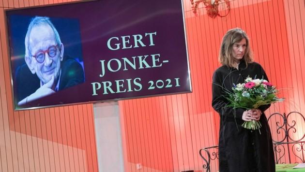 Die Gewinnerin der Gert-Jonke-Preises: US-Amerikanerin Ann Cotten. (Bild: zVg)