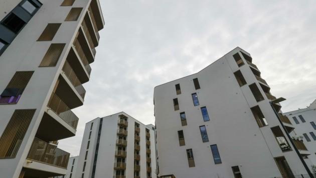 786 neue Wohnungen stellen die gemeinnützigen Wohnbauträger im heurigen Jahr fertig. Beispielsweise übergibt die Salzburg Wohnbau rund 60 Bleiben am ehemaligen Areal der Rauchmühle in Salzburg-Lehen. (Bild: Tschepp Markus)