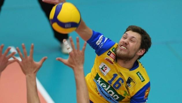Drobnic und Co. hatten wieder keine Chance gegen UVC Graz. (Bild: F. Pessentheiner)