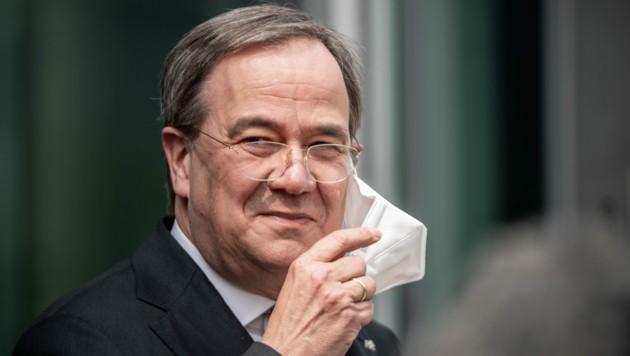 Armin Laschet, CDU-Bundesvorsitzender und Ministerpräsident von Nordrhein-Westfalen (Bild: APA/dpa/Michael Kappeler)