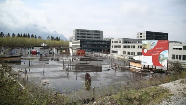 Noch heuer starten die Arbeiten für den letzten Bauabschnitt beim Wissenspark Puch (Bild: Tröster Andreas)