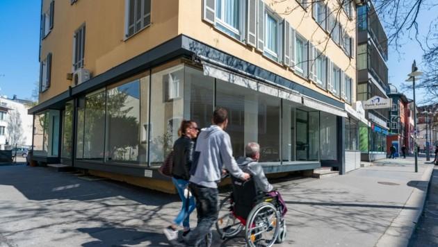 Leerstand ist auch ein Thema in Einkaufsstraßen - dort können die freistehenden Flächen aber oft unkompliziert zwischengenutzt werden. (Bild: Stiplovsek Dietmar)