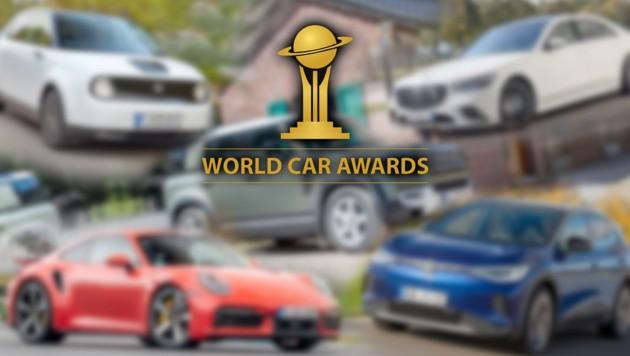 (Bild: Hersteller, World Car Awards, Krone KREATIV)