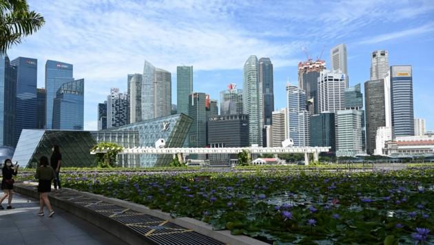 Mit einem knallharten Lockdown hat Singapur die Corona-Krise in den Griff bekommen. (Bild: AFP or licensors)