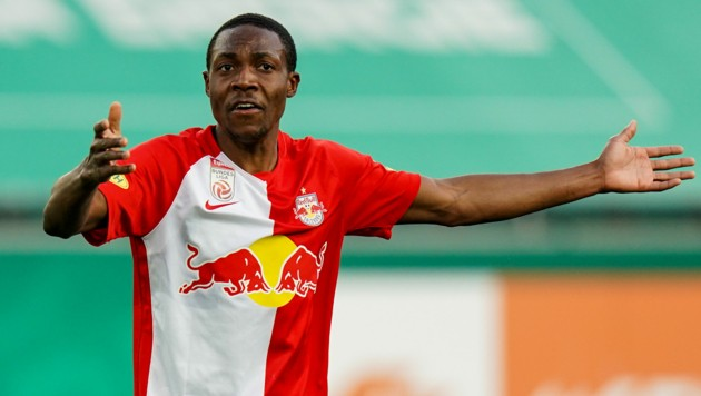 Enock Mwepu steht vor einem Wechsel nach England. (Bild: GEPA)