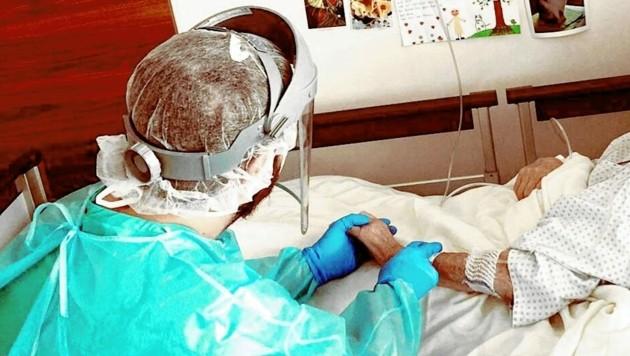 Das Gesundheitspersonal stellt die Betreuung der schwer Erkrankten jeden Tag aufs Neue vor große Herausforderungen. Routine gibt es keine. (Bild: Elisabethinen-Krankenhaus Klagenfurt)