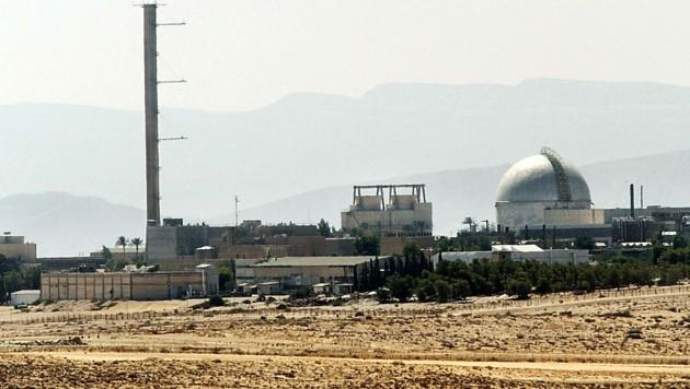 Die Atomanlage Dimona in der Negev-Wüste (Bild: APA/AFP/Thomas Coex)