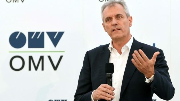 """OMV-Chef Rainer Seele ist für Greenpeace """"als CEO eines österreichischen Konzerns nicht mehr tragbar"""". (Bild: APA/HELMUT FOHRINGER)"""