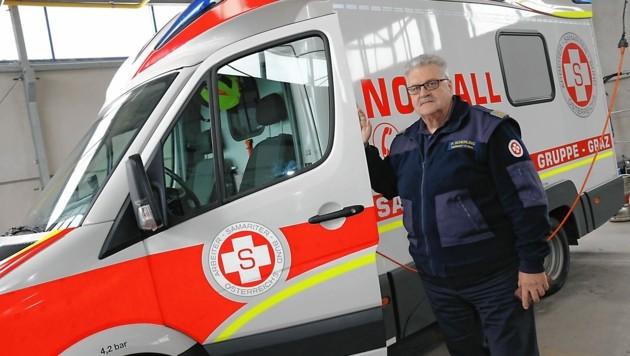 Der Präsident des Arbeiter-Samariterbundes, Peter Scherling. (Bild: Christian Jauschowetz)