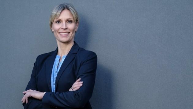 Ex-Miss-Austria Sabine Lindorfer geht für die VP in Feldkirchen an der Donau ins Bürgermeisterrennen (Bild: Eric Krügl)