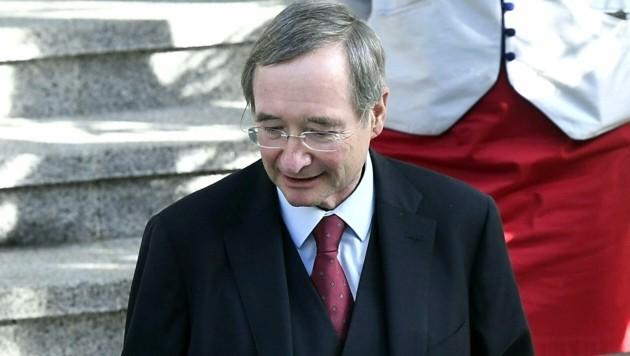 Ex-Wirtschaftskammerpräsident Christoph Leitl (Bild: APA/HARALD SCHNEIDER)