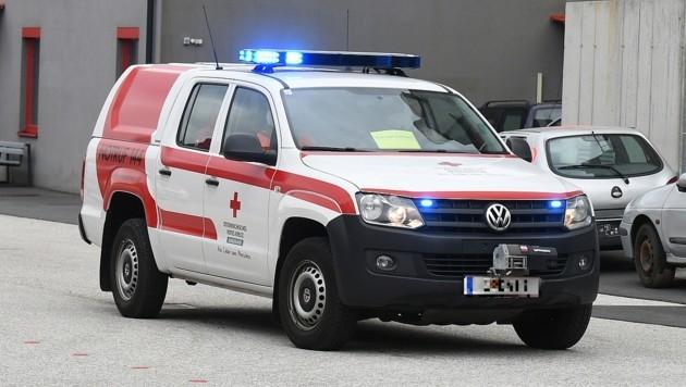 Die Verletzten mussten ins Krankenhaus gebracht werden (Symbolbild) (Bild: P. Huber)