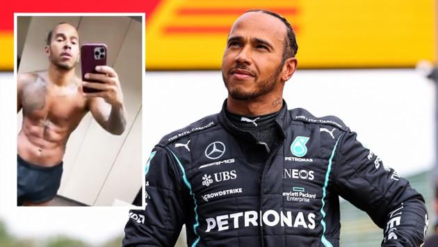 (Bild: AFP/Instagram Lewis Hamilton, Krone KREATIV)