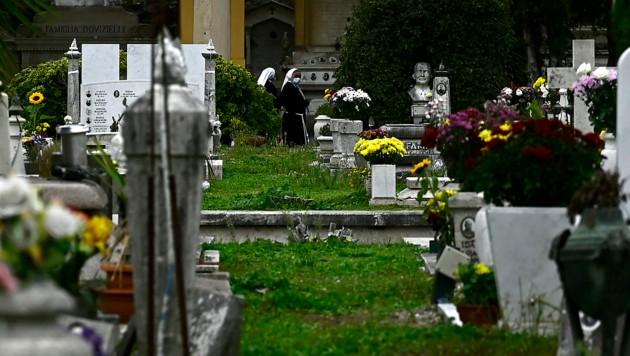 Der Verano-Friedhof in Rom (Bild: AFP)
