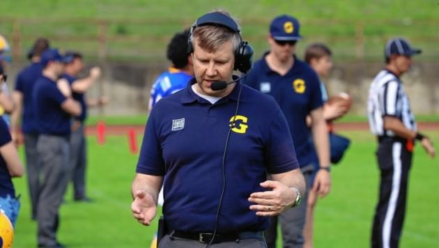 Martin Kocian steht als Trainer vor dem Abschied bei den Graz Giants. (Bild: Sepp Pail)