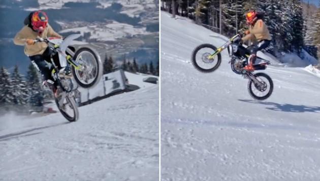 Marcel Hirscher auf seiner Motocross-Maschine (Bild: Instagram.com/marcel_hirscher)