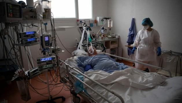 Die Lage auf den Intensivstationen in den Niederlanden spitzt sich immer mehr zu. (Bild: AFP)