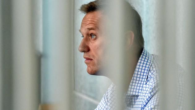 Nawalny bei einer Gerichtsanhörung 2019 (Bild: APA/AFP/Vasily Maximov)
