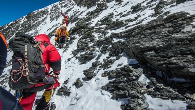 Trotz der Corona-Krise wollten noch nie so viele Bergsteiger auf den Mount Everest wie in diesem Jahr. (Bild: ©Wayne - stock.adobe.com)