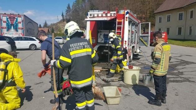 (Bild: Feuerwehr Feistritz im Rosental)