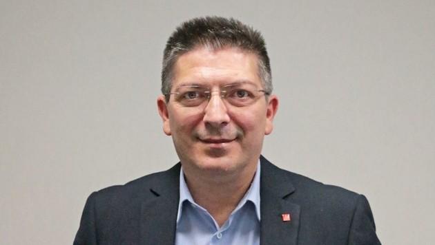 Der deutsche Konzernbetriebsratsvorsitzende Saki Stimoniaris mischt sich nun ein (Bild: Traton Group)