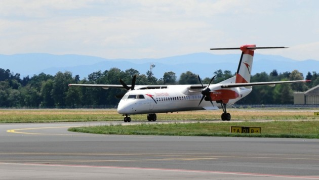 Aktuell fliegt die AUA von Graz nach Wien und Düsseldorf. (Bild: Christian Jauschowetz)