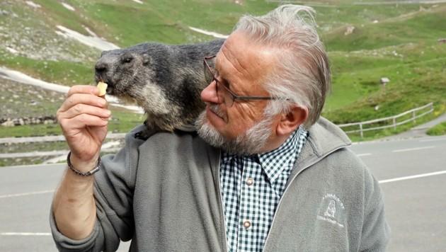 Herbert Haslinger, vielerorts besser bekannt als Mankeiwirt, arbeitet heuer den 50. Sommer am Großglockner. Danach geht der bald 64-Jährige in die wohlverdiente Pension. (Bild: Land Salzburg/Neumayr/Hoelzl)