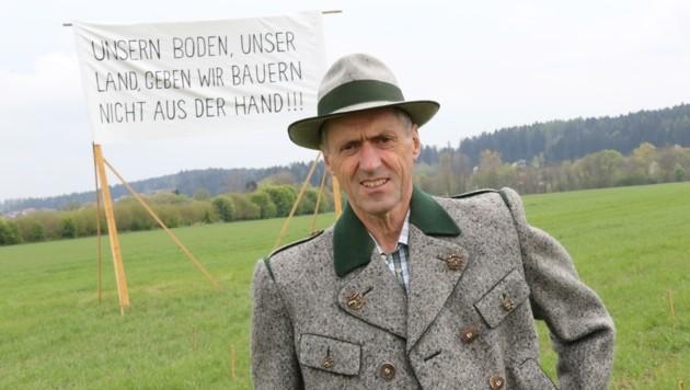 """Bauern-Anführer Archan: """"Enteignen wird's nicht spielen!"""" (Bild: Jauschowetz Christian)"""