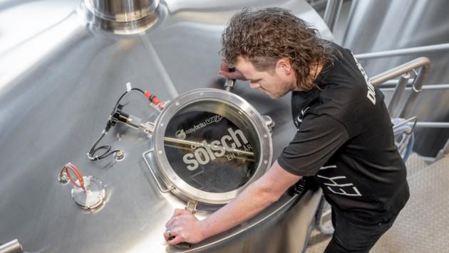 Die kleine Söldner Brauerei Bäckelar Brewery muss sich bereits kurz nach der Firmengründung mit einem Namensstreit auseinandersetzen. (Bild: Sölsch/Rudi Wyhlidal)