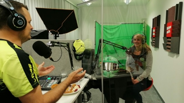 "Alina Loibnegger im ""Krone""-Podcast. (Bild: zVg)"