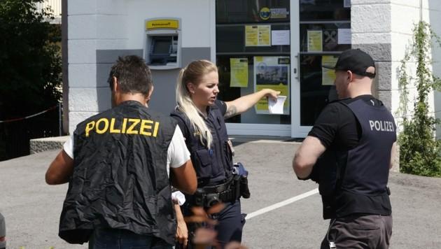 Die Serientäter raubten auch eine Bank in Salzburg aus. (Bild: Tschepp Markus)