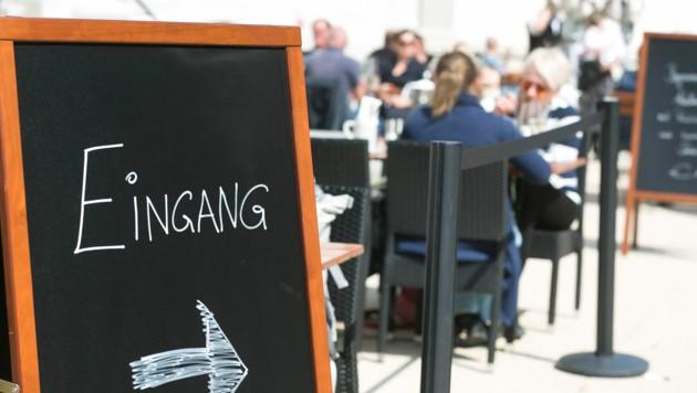 """Dank """"Modellregion"""" konnten die Vorarlberger Speis und Trank in der Gastronomie genießen. (Bild: Mathis Fotografie)"""