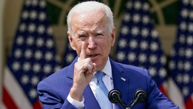 Mit Präsident Joe Biden ist wieder Ruhe in Washington eingekehrt (Bild: The Associated Press)