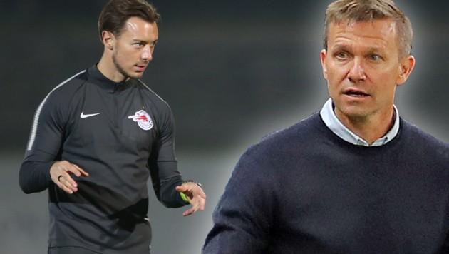 Matthias Jaissle (li.) und Jesse Marsch (Bild: GEPA, krone.at-grafik)