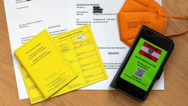Im Juni soll Reisen mit dem Grünen Pass möglich sein. (Bild: SEPA.Media/Johann Schwarz)