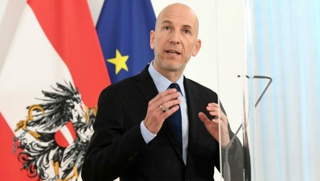 Arbeitsminister Martin Kocher (ÖVP) (Bild: APA/Helmut Fohringer)
